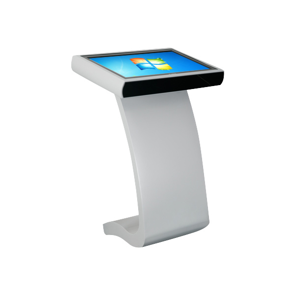 HIgh quality indoor application 65'' I3 Dual core Computer system kiosk Bulit in IR 10-points touch/Wifi for exhibition/Airport.