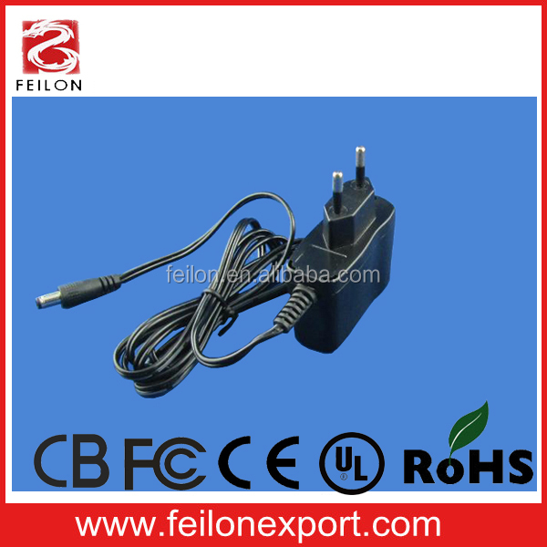 5w DC power supply 12v power supply AU CE ROHS FC UL certificate