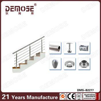 High Quality Stair Baluster Spacing /railing Tangga Stainless Steel Harga