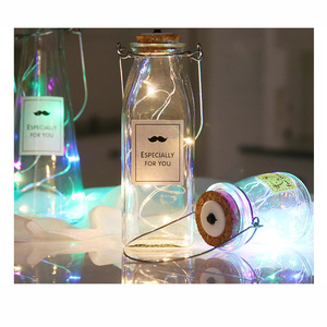 20 LED Wine Bottle Stopper Lights holiday gift bag for Party Decoration
