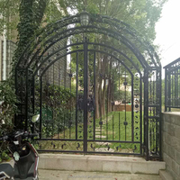 Small iron gate Customized Size for Home & Garden