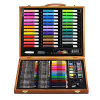 wood box kids painting art gift set