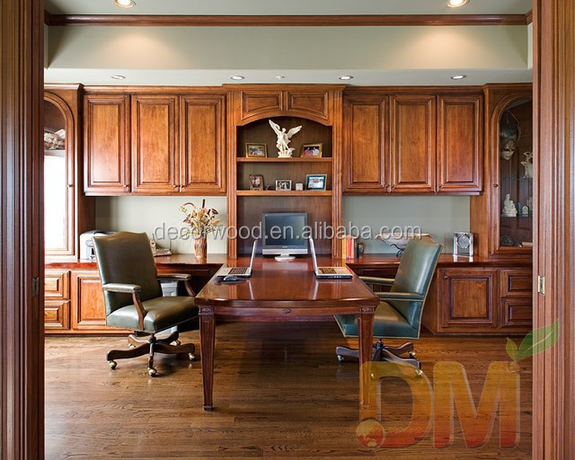High quality design solid wood Traditional home office