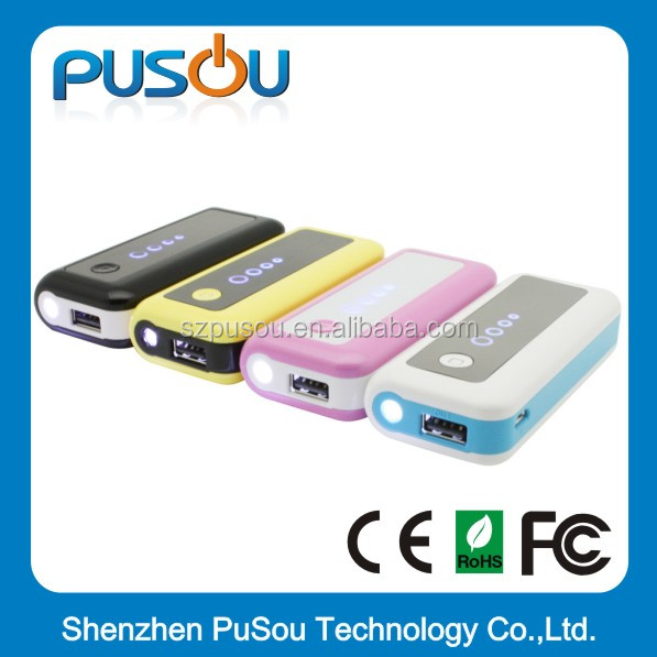 Pusou pspw08 power bank digital display,sedex and disney audit power bank