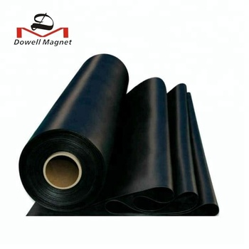 self-adhesive Flexible Rubber Magnetic roll