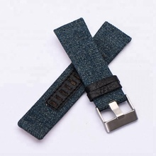 High Quality watch Strap Cowboy fabric nylon watchband for brand replacement watch band