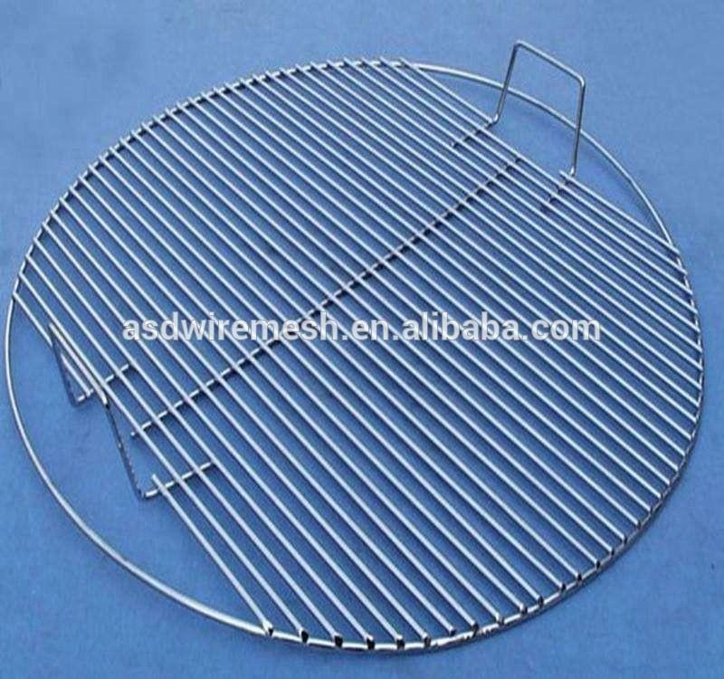 304 Charcoal bbq wire rack Barbecue grill stand(factory)