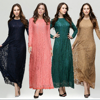 New arrival lace dress best quality abaya online shopping wholesale dubai dress