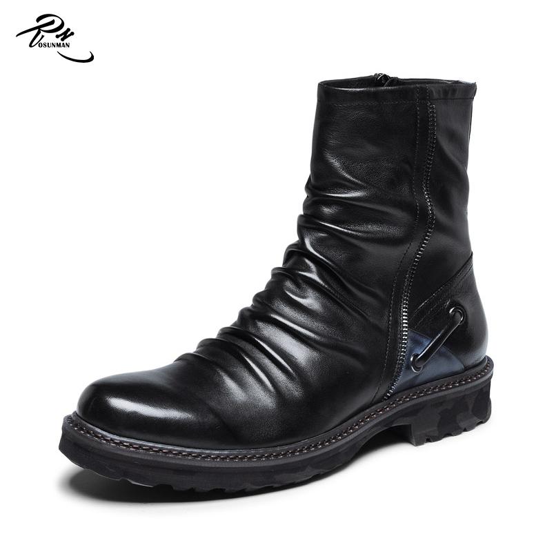 d581b11efb988 Fashionable design mexican cowboy men long high cut boots shoes