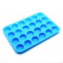 12/24 cup Non-Sticky Silicone baking Pan for Muffins Cakes and Cupcakes