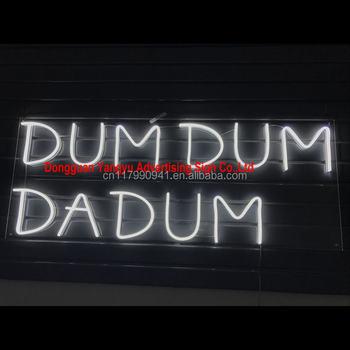 Outdoor Led Flex Neon Bar Signs