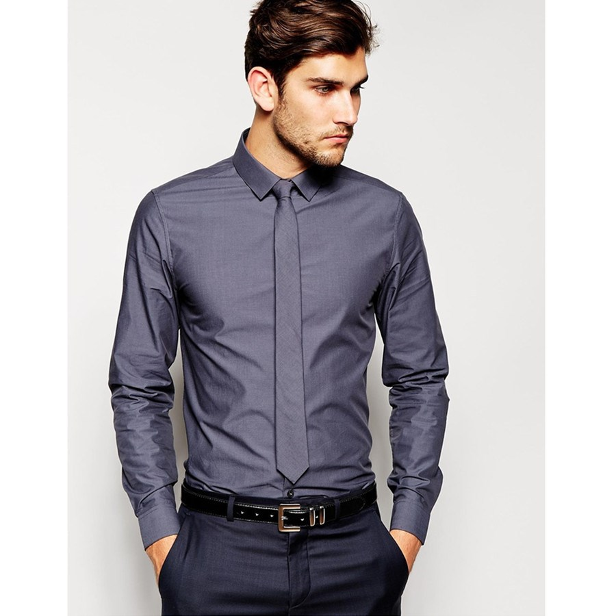 Chinese Company Supply Dress Shirt And Tie - Buy Dress Shirt And ...