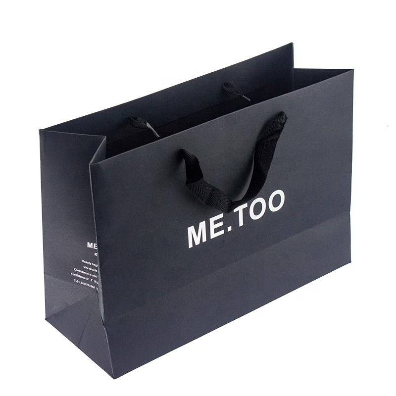 Customized Logo Design Craft Gift Paper Shopping Bag Wholesale