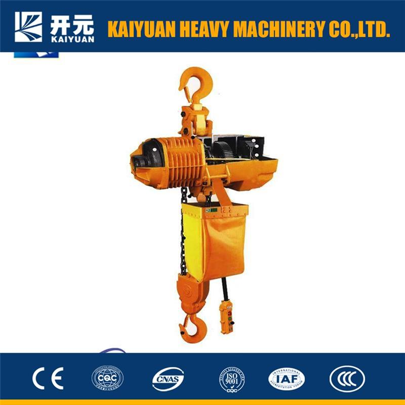2017 light weight hoist,HHBB wire rope electric chain hoist for D.P.R.Korea