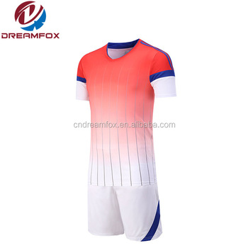 b3dd38cf5a6 2018 Latest Design football shirt cheap wholesale plain soccer jerseys  professional uniforms make in china
