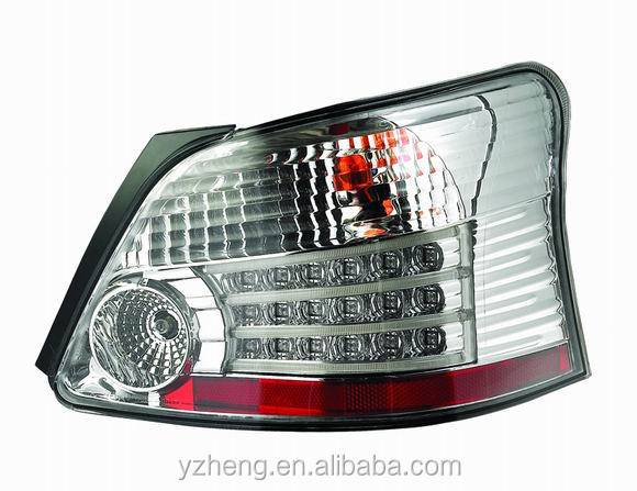 2pcs Vland VIOS Car LED tail light car styling rear light back lamp