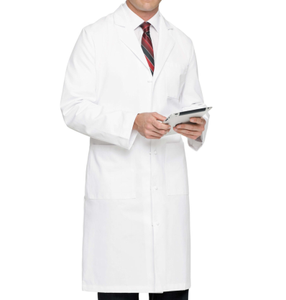 Unisex Design White Medical Lab Coat Hospital Doctor's Uniform Medical Uniform for Doctor