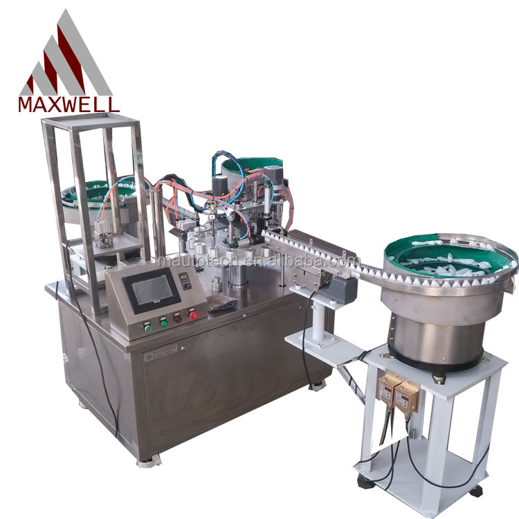 high quality glue filling and capping machine Exported to Worldwide