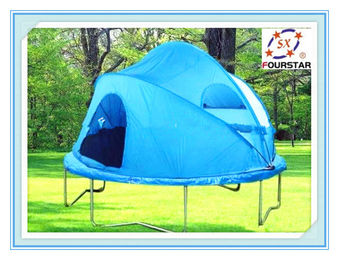 ... image gallery tr&oline tent ...  sc 1 st  Tr&oline For Your Health - Vicsanders & 15 Ft Trampoline Cover - Trampoline For Your Health