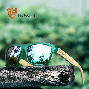e4b58bd0e90 Hu Wood 2018 NEW Sunglasses Men s Retro Male Goggle Colorful Sun Glasses  For Men Fashion Brand