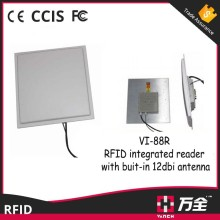 Built-in antenna ethernet port rfid reader for production line management