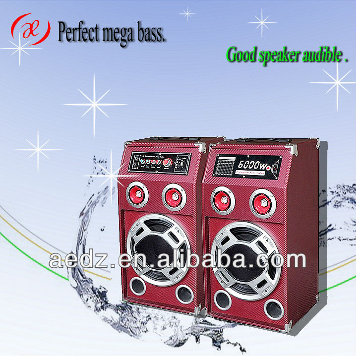 Karaoke and Home Theatre Sound System Speaker audio stage speaker with disco light usb,sd,fm,remote