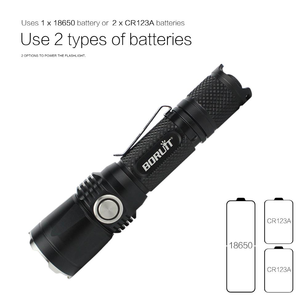 Boruit C2 LCD Hiển Thị Thông Minh Có Thể Sạc Lại Sạc 18650/26650 Sạc Pin Thông Minh