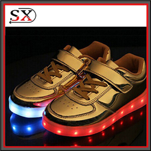 Rio Olympics Closing Ceremony Light Up LED Shoes Men Women Adult Children PU Leather 11 Colors Flash Shoes