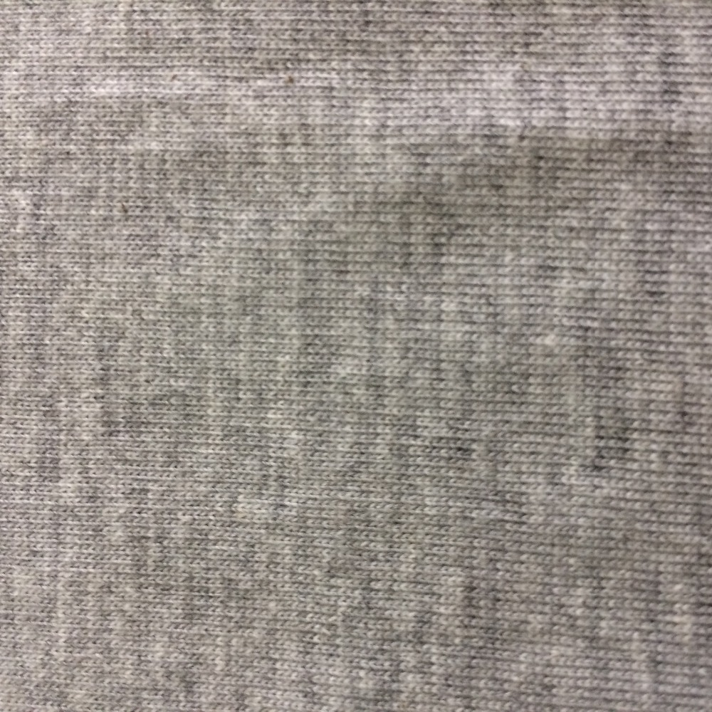 180gsm 100% combed cotton heather grey Single Jersey or Jersey fabric