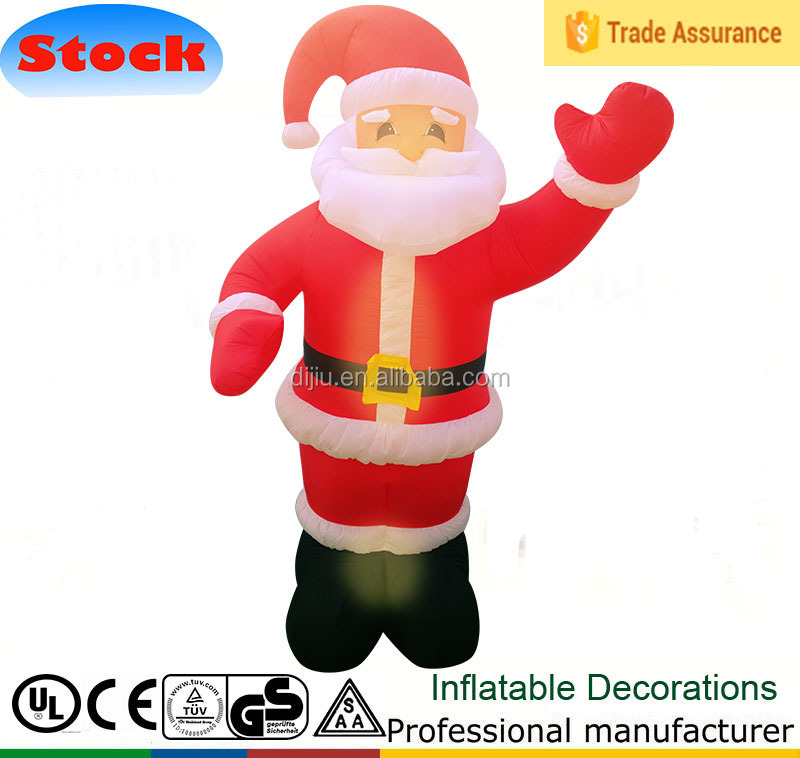 New Christmas Inflatable Scene Santa Claus Air Blown Outdoor Yard Decor 1.5M