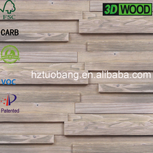 Shop Weathered Decoration Antic Wood Plank 3D Wall Panel
