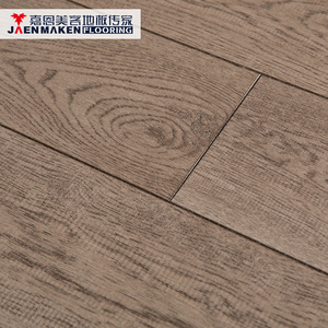 Best quality waterproof 14mm parquet oak driftwood engineered flooring