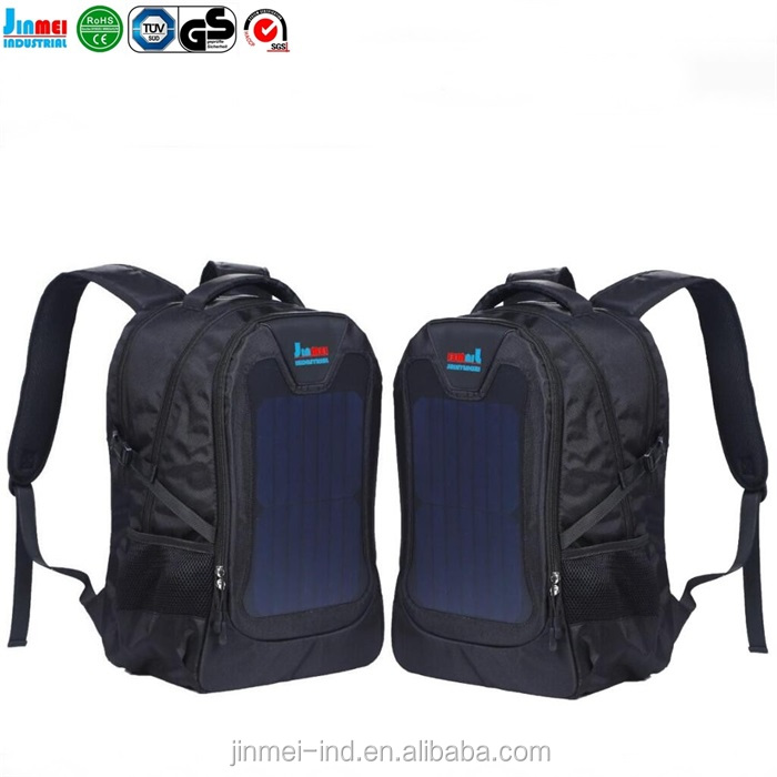 2017 china product hot sale OEM travel solar energy backpack school backpack for cheap price JM-B003