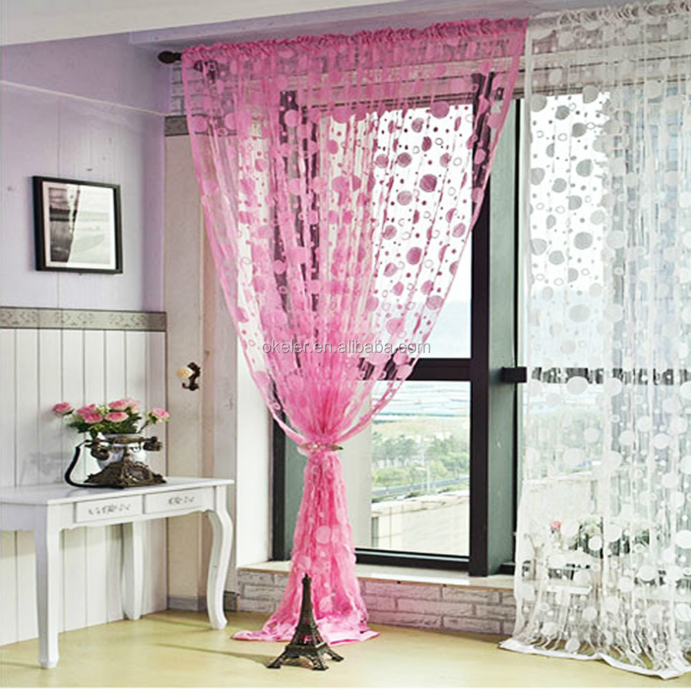 Romantic Pink Tassel Line String Curtain Elegant Drapes Curtains For Window  Vestibule Door   Buy Elegant Drapes Curtains,Curtains And Drapes,Curtains  For ...