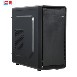 Manufacturer Sheet Metal Mid-Tower Gaming Computer Case Chassis for PC