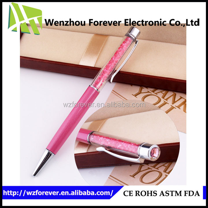2016 New Proudcts On China Market Bling Diamond Crystal Pen
