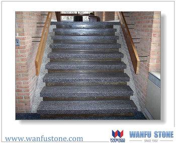 Grey Granite Bullnose Stairs 1200x400x30mm