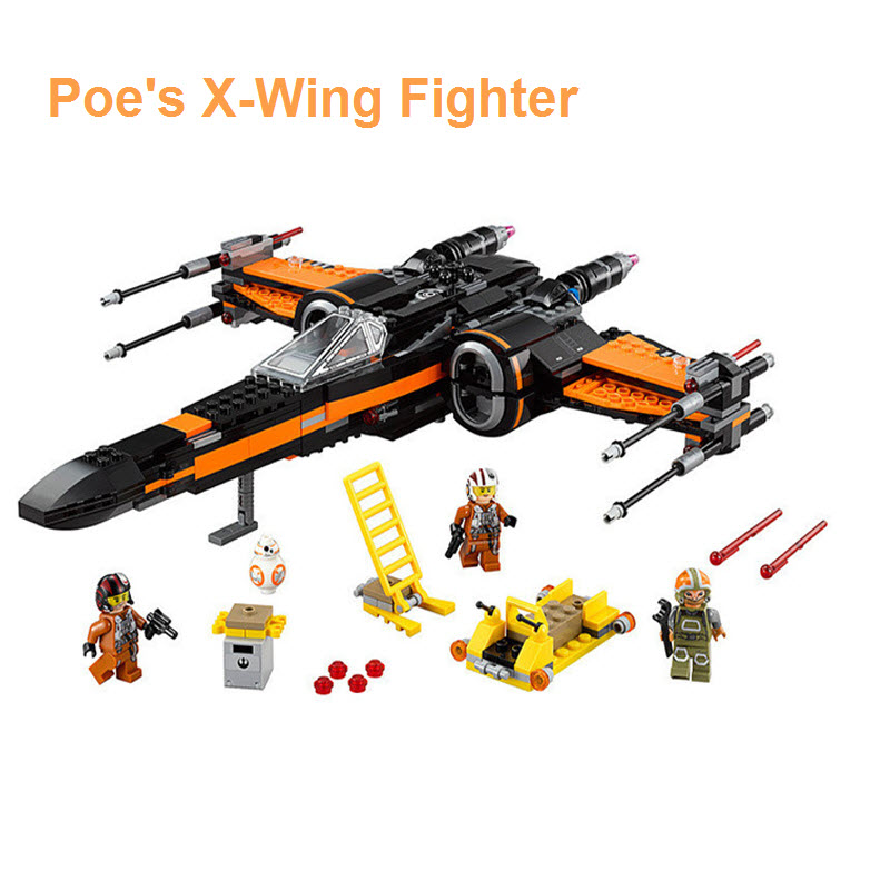 Lego Star Wars Poe's X Wing Fighter 75102 Figures Model Set Bricks Toys Children Gift