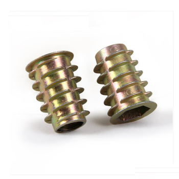Zinc Alloy Materials Flat Head Insert Nut Made In China