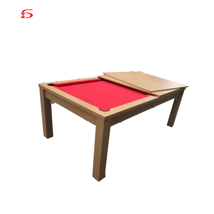Hot Practical Classical 2in 1 Solid Wood Frame Pool Table Dining Table And Chairs Combo For Sale China Buy Dining Table Dining Table And Chair Pool Table Product On Alibaba Com
