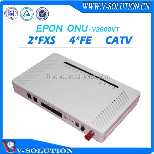 4FE+2FXS+CATV ONU ralink 3052 openwrt network wireless router