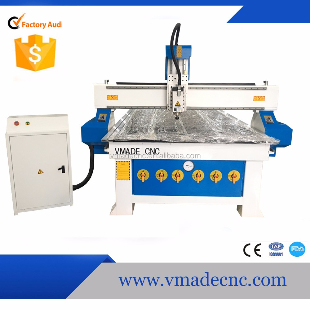 1325 3kw 4.5kw Five Axis CNC Router Machine / 5 Axis cnc wood cutting machine on sale