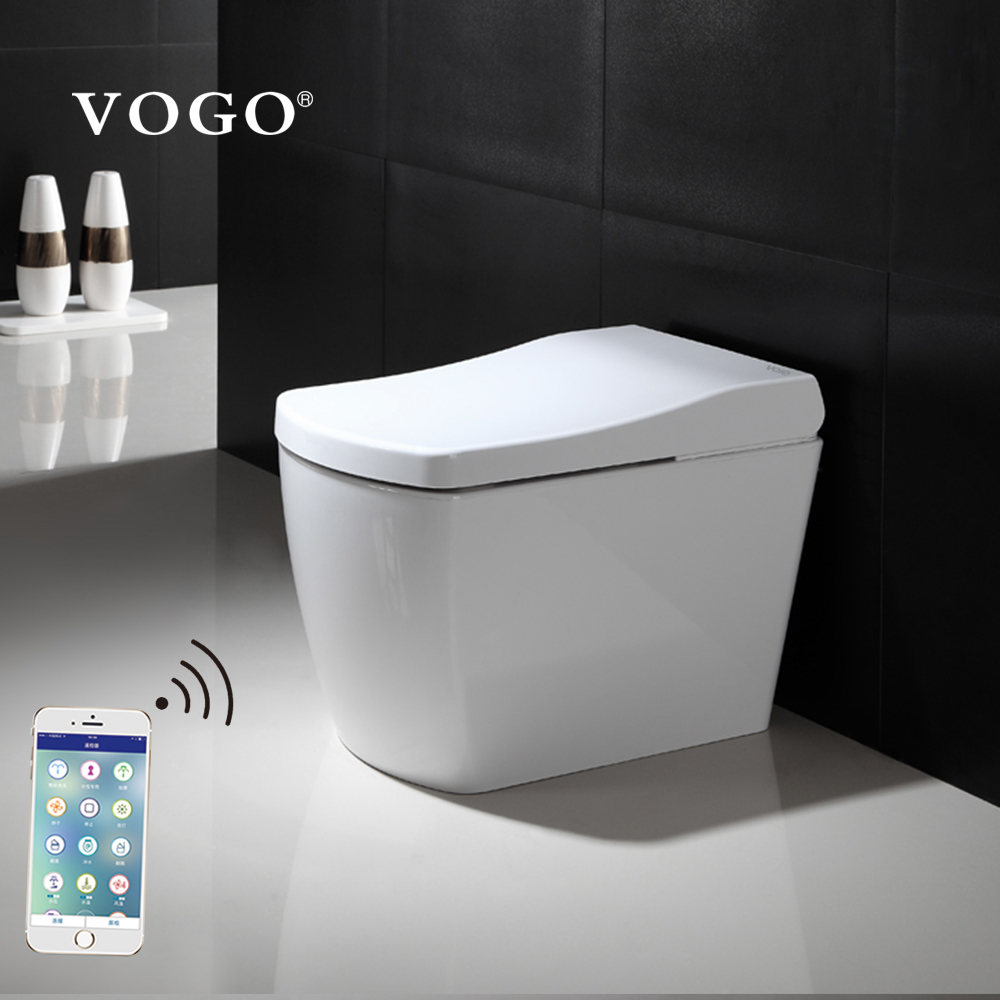 Kamar Mandi Cerdas Smart Electric One Piece Bidet Toilet