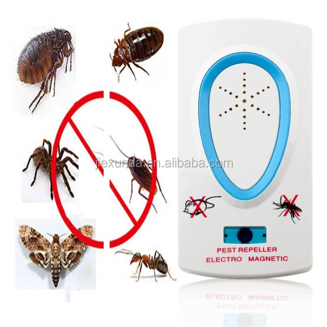 Hot sale High Quality Electro Magnetic Ultrasonic Electronic Pest Repeller for Lustrating Mouse Bug Mosquito Insect
