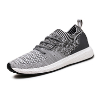 2019 Hot sale knit fabric sports running shoe for men