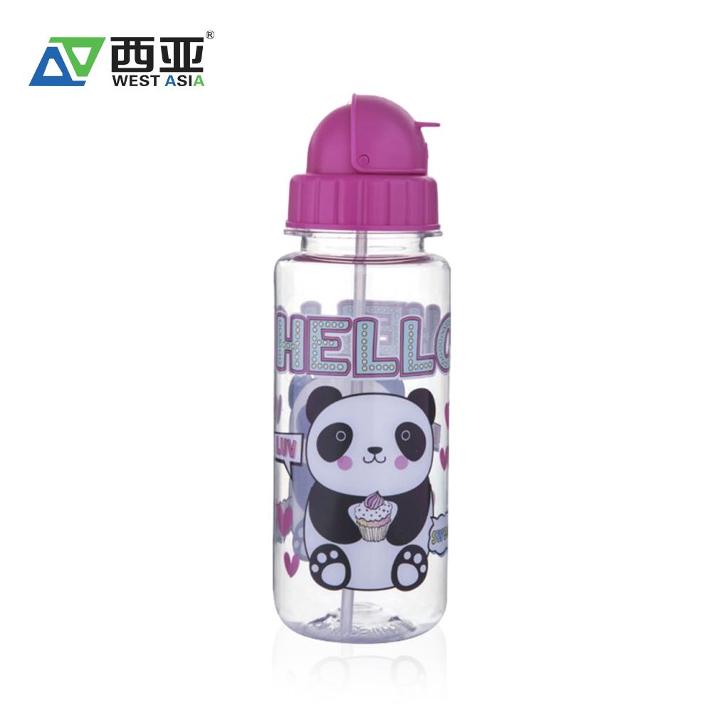 Creative Portable Glass Water Bottles 300ml Botol Minum Transp Usupso 3022 Cloth Set Insulated Merah Cartoon