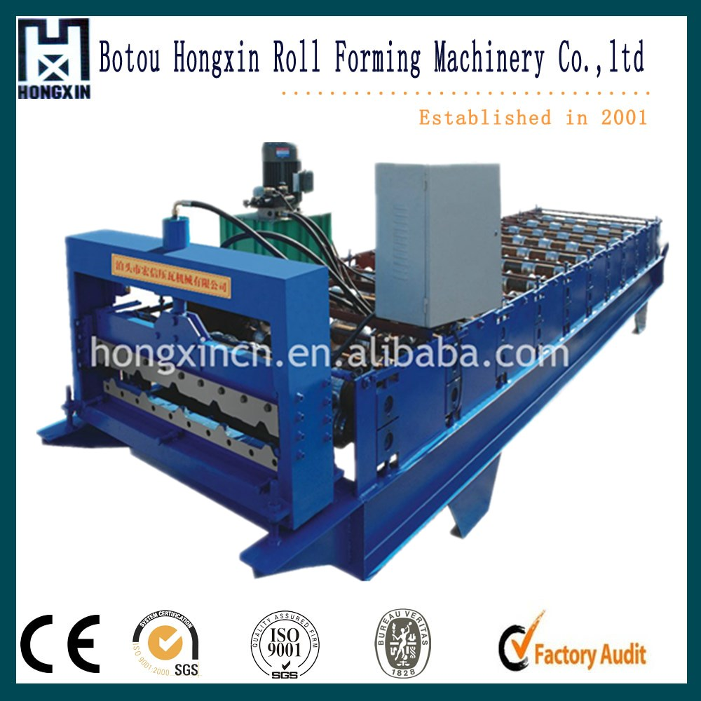 840 type 2 year warranty roof profile iron sheet roof & wall making automatic roof tile machine