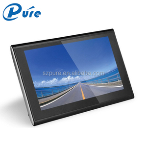 5 Inch GPS Navigator HD Screen Vehicle Tracker Motorcycle GPS Navigator with AV Input