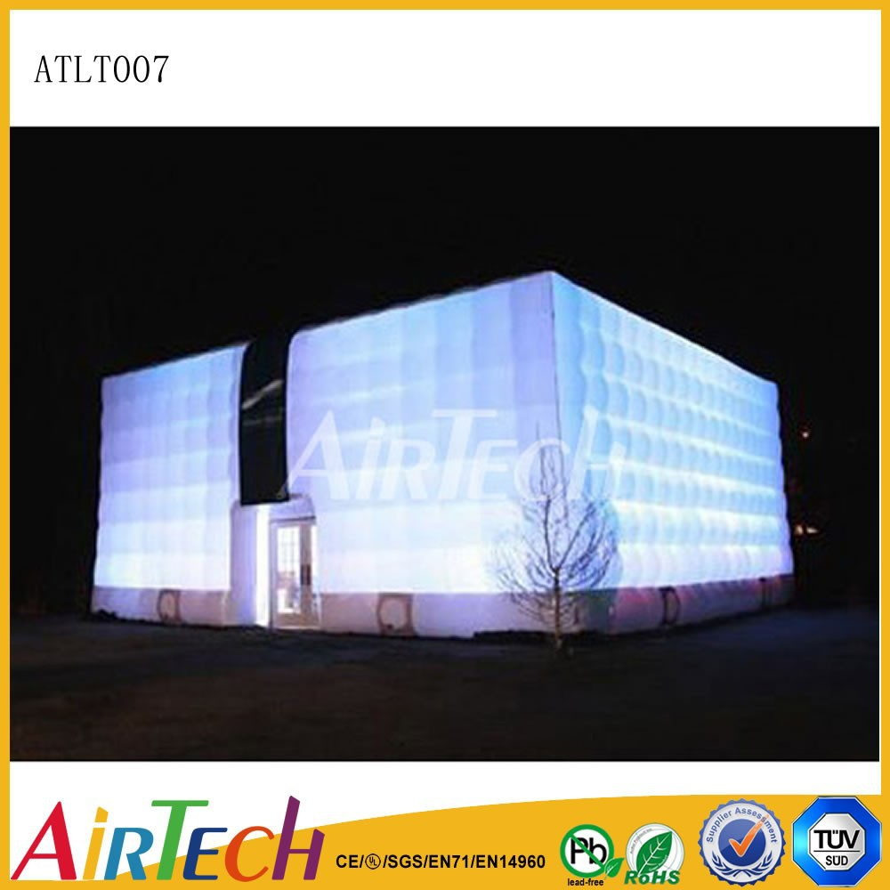 High quality led tent light inflatable cube tent Lighting tent for Advertising