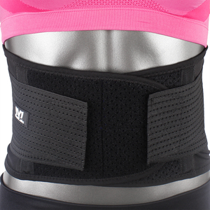 Adjustable Fabric Breathable Medical Lower Back Brace